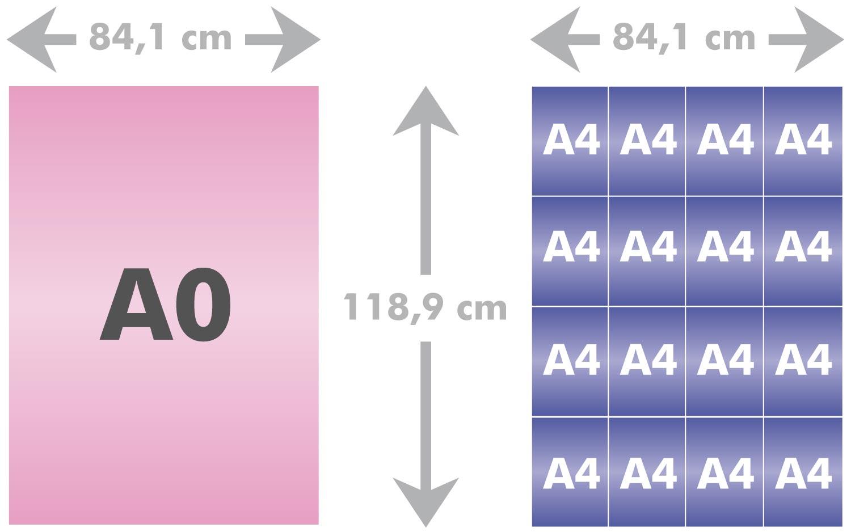 a0 a4 diff rence entre le format de papier a0 et un a4 format a0. Black Bedroom Furniture Sets. Home Design Ideas