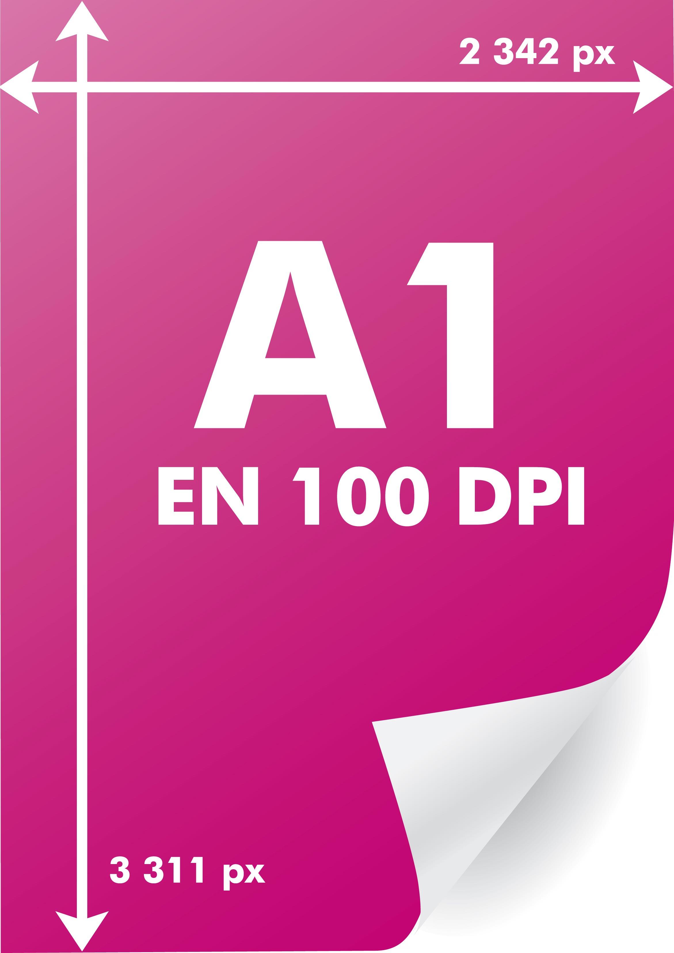 Toutes Les Dimensions Dun A1 En Pixels Par Résolutions
