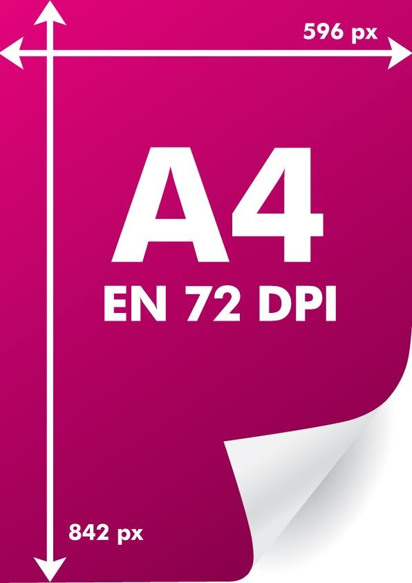 Toutes Les Dimensions Dun A4 En Pixels Par Résolutions