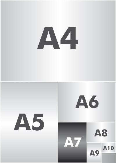 format de papier a7 tout savoir sur le format d 39 impression a7. Black Bedroom Furniture Sets. Home Design Ideas