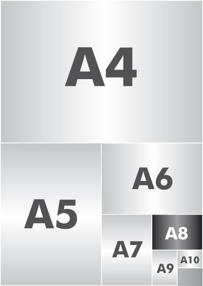 A8 Format